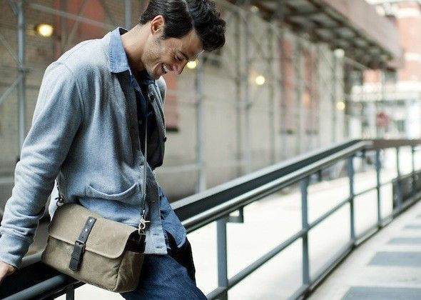 Ona Bowery Camera Bag & Insert - Field Tan :: Maxton Men