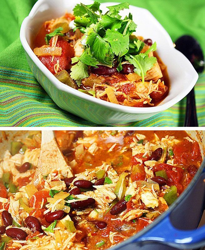 Turkey Chili Recipe on Simply Recipes at http://www.simplyrecipes.com/recipes/turkey_chili/