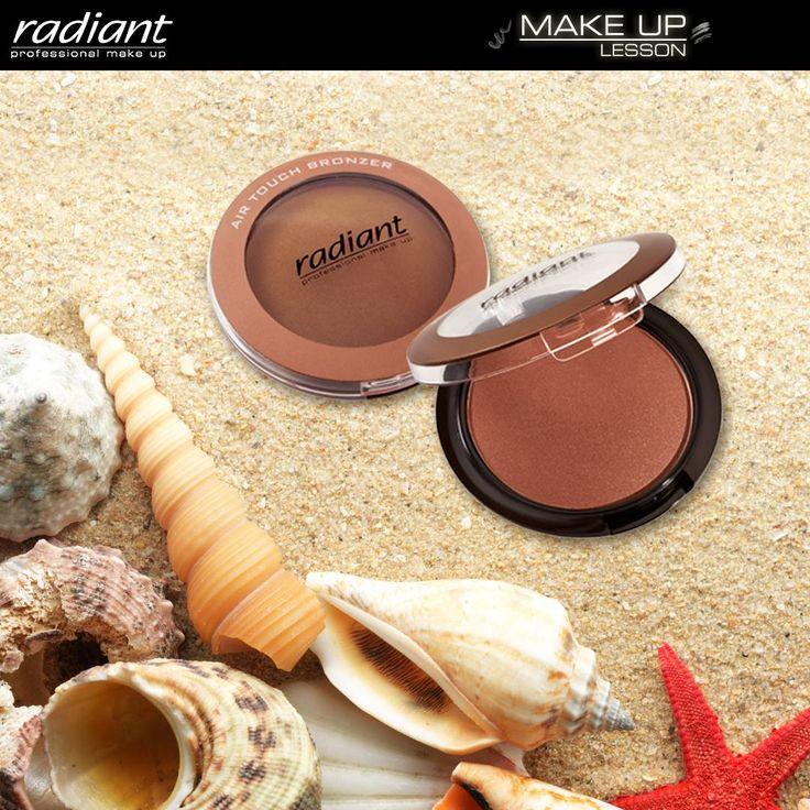Air Touch Bronzer | Radiant Professional Make Up Δημιουργήστε την αίσθηση του ηλιοκαμμένου δέρματος χρησιμοποιώντας ένα Air Touch Bronzer! #Radiant #Professional #makeup #Bronzer #sunkissed