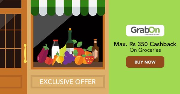 Grab this exclusive #coupon & enjoy huge savings on #grocery!  #groceryshopping #india #offers #onlineshopping