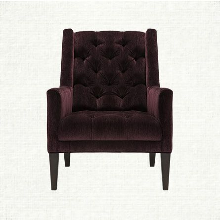 Shop For Ida At Arhaus Amethyst Colored Chenille And