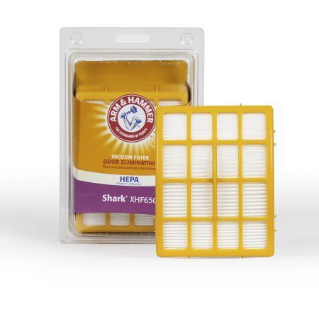 Arm & Hammer Shark XHF650 Hepa Filtration Odor-Eliminating Vacuum Filter
