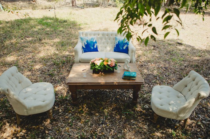 No-one said a styled shoot had to be inside, especially if you're in Australia