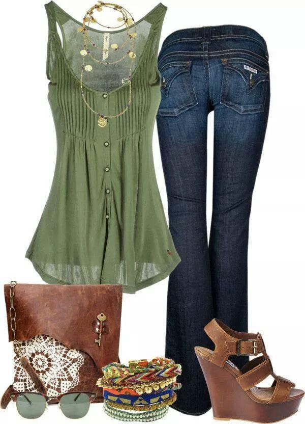 Good spring or fall look!