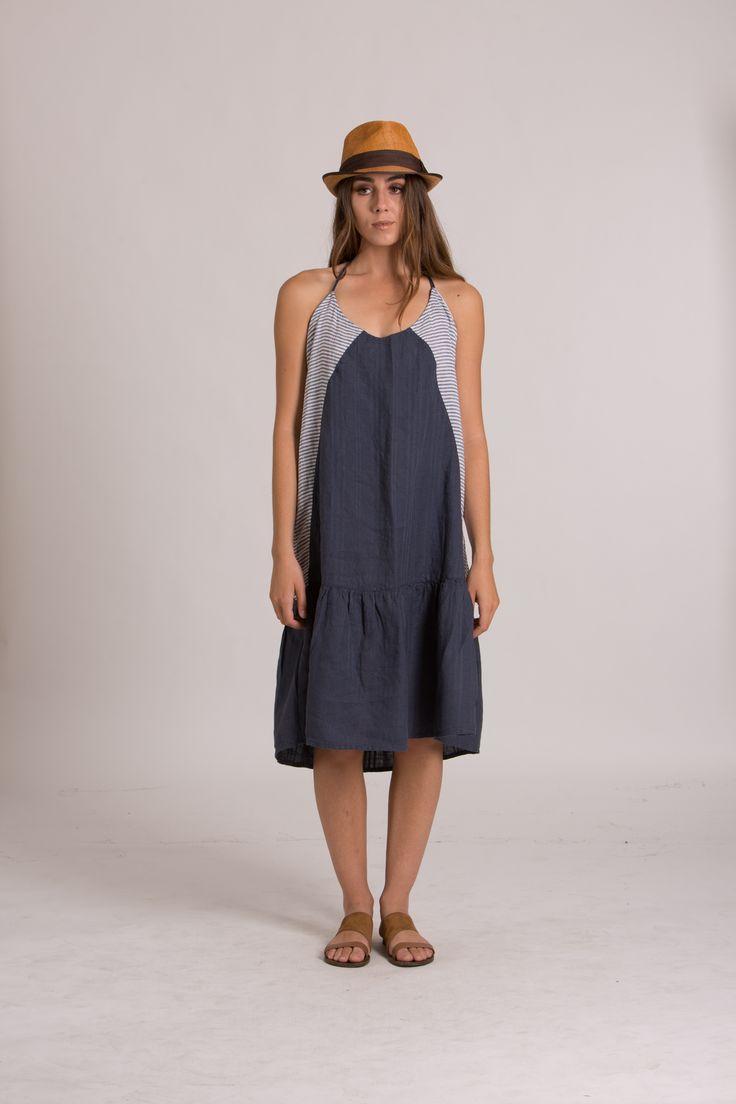 SIMONE DRESS   Indigo
