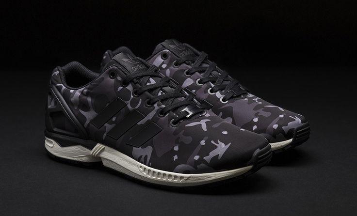 Sneakersnstuff x adidas ZX Flux 'Camo'