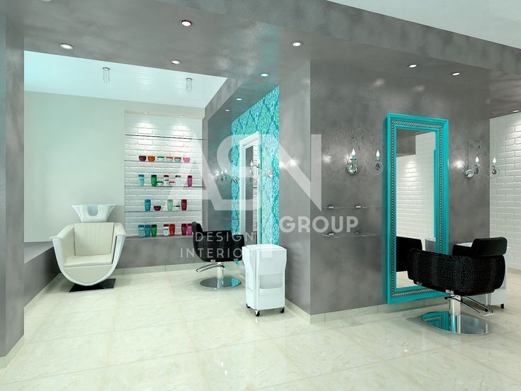 Дизайн-проект интерьера: Салон красоты POU POU PIDOU