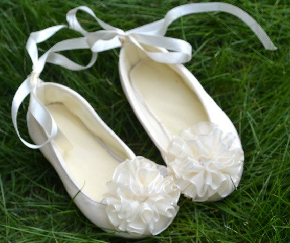 Soft Bottoms Ivory Wedding Party Shoes Tutu Skirts By DLbaby9 2899