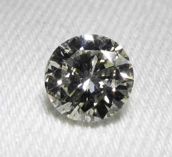 1.00 Carat L Color I1 Clarity Round Brilliant Diamond Loose GIA Certified