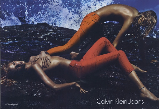 Calvin Klein Jeans Ad Campaign Spring/Summer 2012 Shot #1