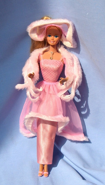 """1981 - Pink and Pretty Barbie. There she is...one of my favorites. I also loved """"Crystal"""" Barbie."""