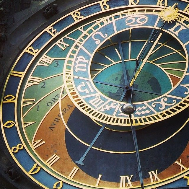 Horoscope Alchemist Clock