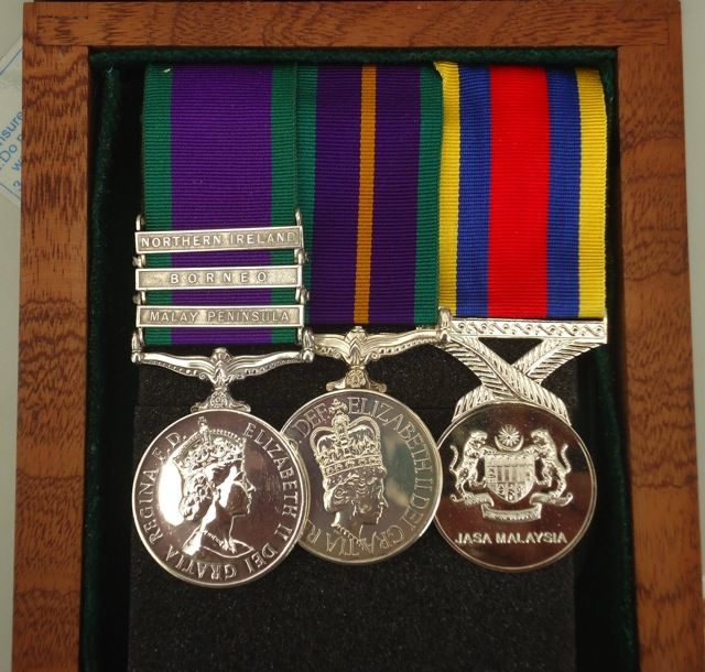 Isaf medal mess dress medal placement
