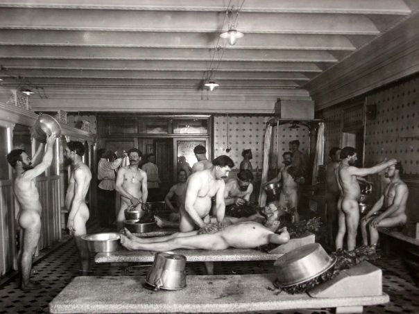 Russian Bath Bathhouse With Steam 47