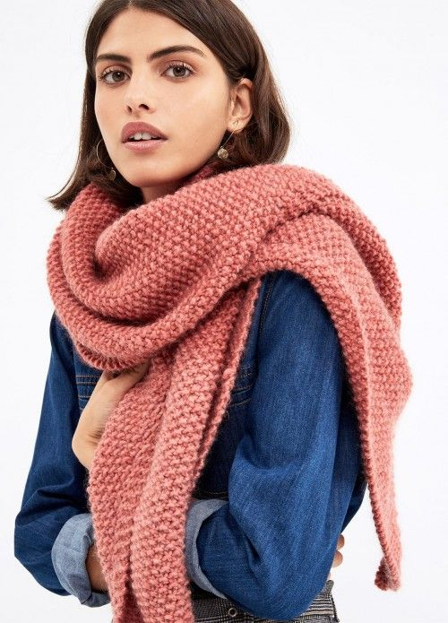 1683d975e615 Le Marais Shawl   We Are Knitters Knit Cardigan, Lana, Wooden Knitting  Needles,