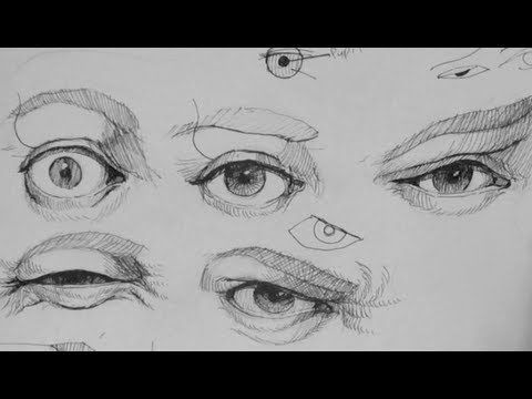Pen & Ink Drawing Tutorials | How to draw realistic eye expressions