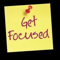 3 simple steps to get focused