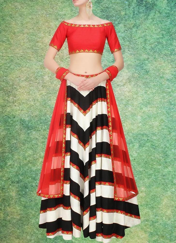 Lehenga Bollywood Traditional Choli Indian Bridal Ethnic wear Pakistani Wedding #TanishiFashion