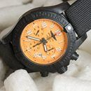 Breitling's Avenger Hurricane 45 watch uses dense composites to stay light
