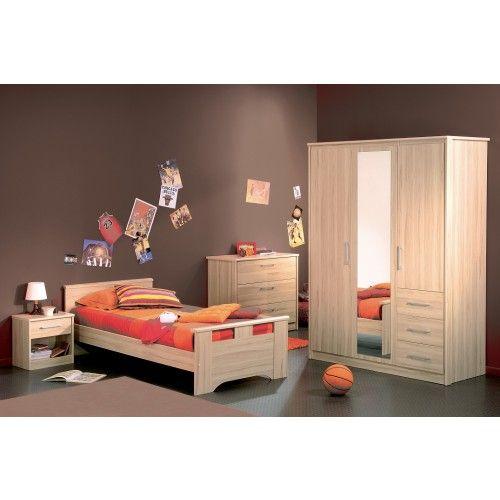 11 best Déco Chambre enfant images on Pinterest Armoires, Closets - peindre un lit en bois