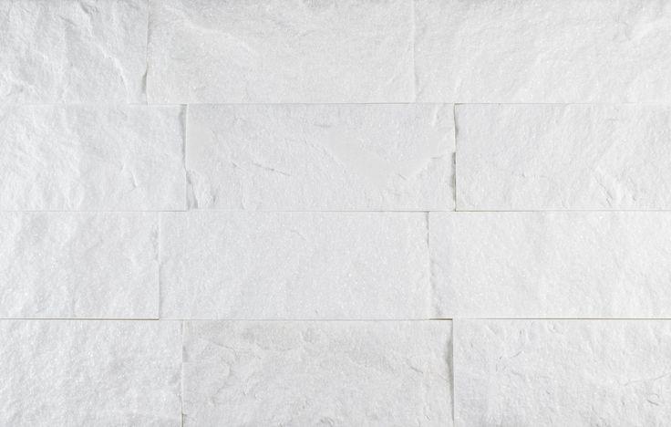 Split Face Stone Tile Thassos White | Mineral Tiles