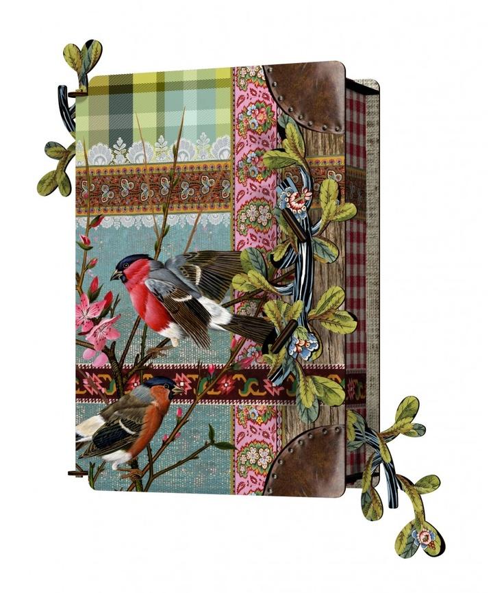 Key Cabinet - Birds