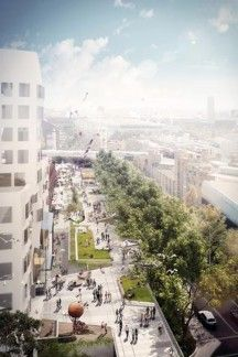 Sydney's version of New York High Line underway. Do you think this will add value and interest to Sydney?