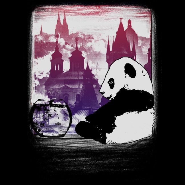 preserve the panda is a T Shirt designed by gupikus to illustrate your life and is available at Design By Humans