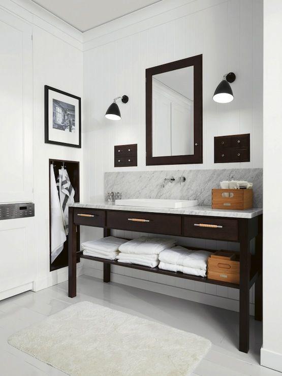 Modern Farmhouse Bathroom Bathrooms Pinterest