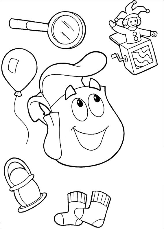 dora coloring pages halloween wwe - photo#2