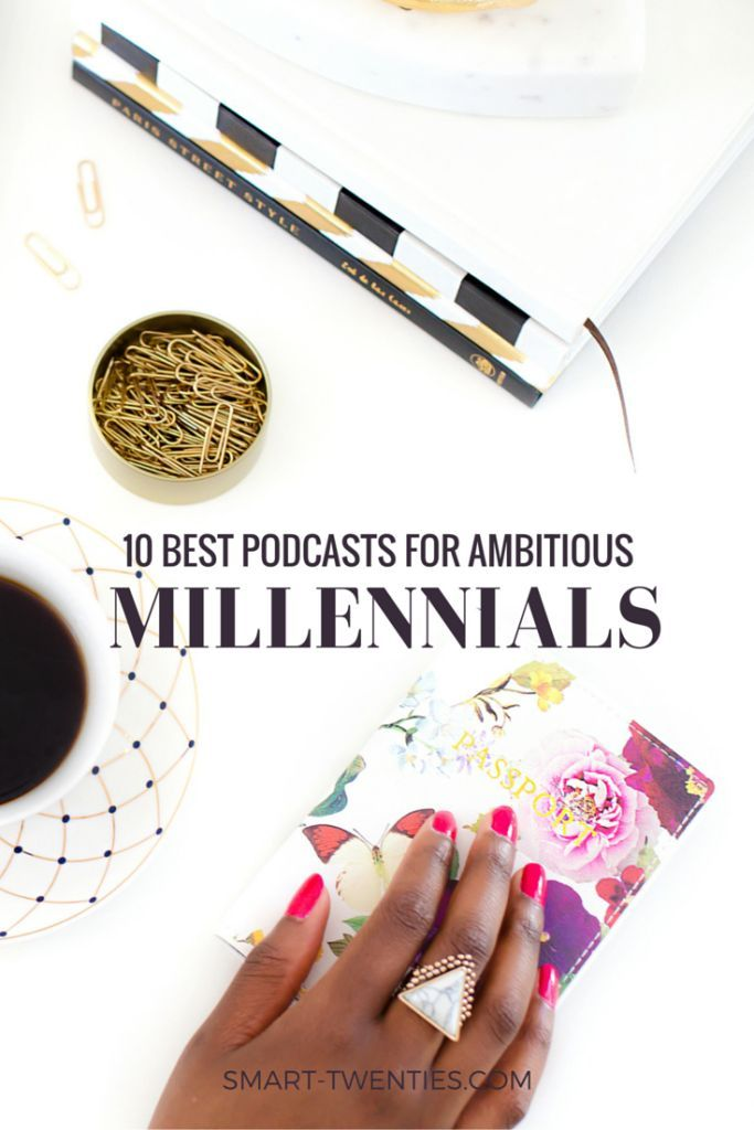 A list of the 10 best podcasts for twenty-somethings. These are the best podcasts for motivational life advice and personal development tips if you're in your twenties. A must-read list for all millennials!