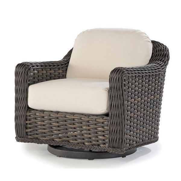 Swivel and gliding chairs for screened in porch. This is an example -- South Hampton Swivel Gliding Club Chair