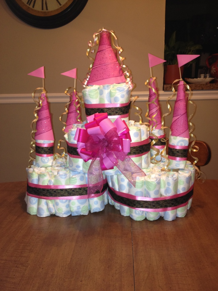 princess diaper cake 17 best ideas about castle cakes on 6809