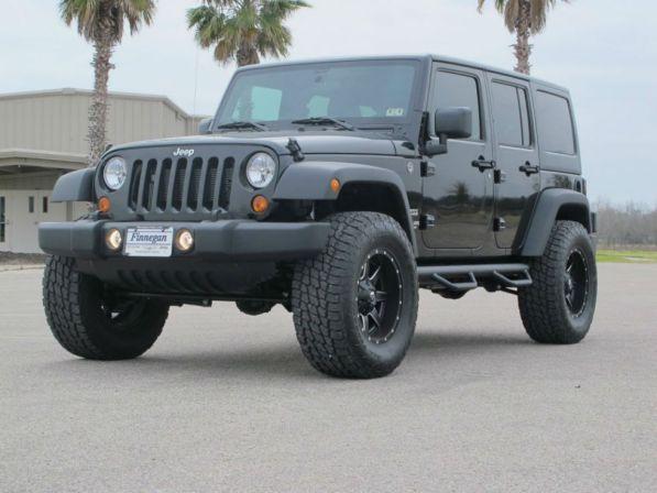 2013 Jeep Wrangler Lifted