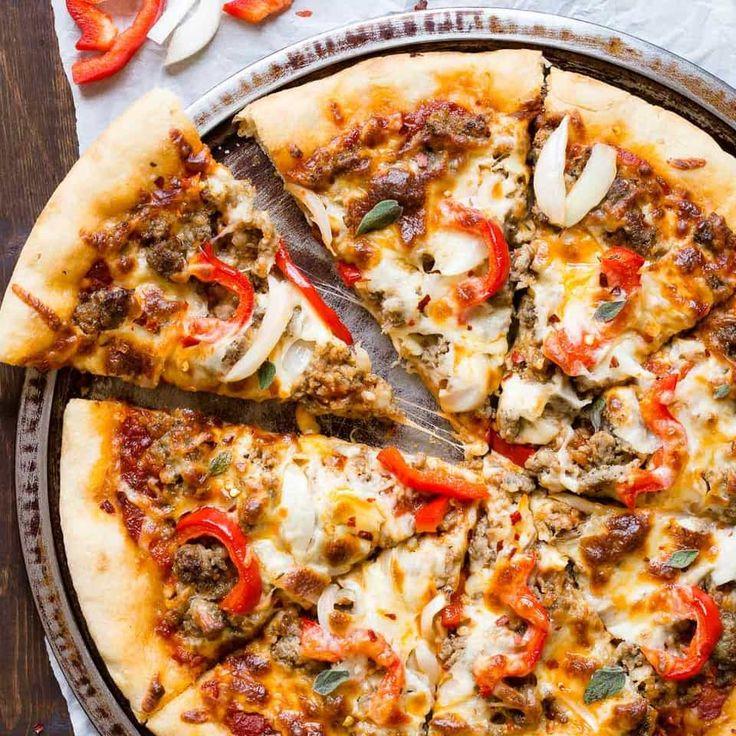 Spicy Sausage Pizza Recipe