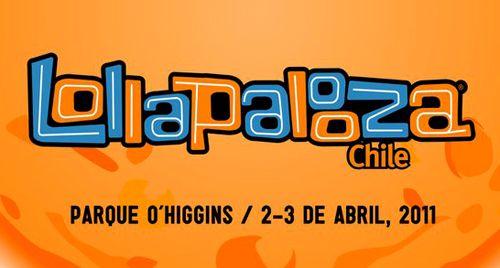 Lollapalooza Chile 2011 - Logo