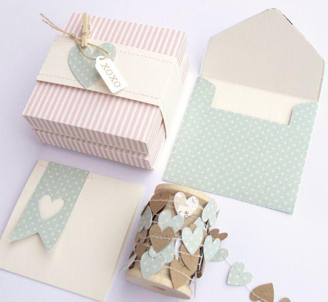 Gift Idea : Homemade Notecard Set
