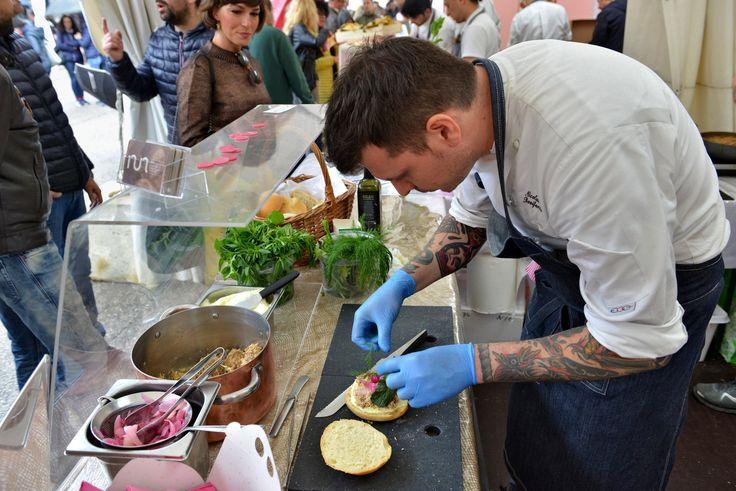 Honoring Porchetta - Attendees at Porchettiamo, a new festival devoted to porchetta in San Terenziano, - The New York Times