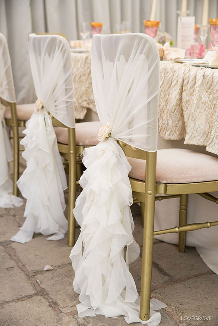 Affordable wedding chair decorations - Best 10 Wedding Chair Covers Ideas On Pinterest Wedding Chair Decorations Chair Decoration Wedding And Outdoor Chair Covers