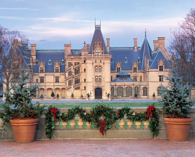 The Candlelight Tour and Christmas at The Biltmore Estate, Asheville, NC