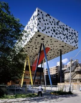 THE SHARP CENTRE  by By Will Alsop as Architects