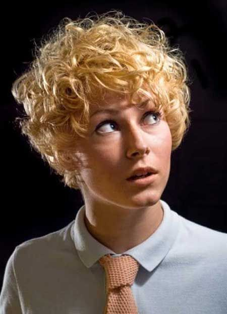 Short Curly Women's Hairstyles | 2013 Short Haircut for Women