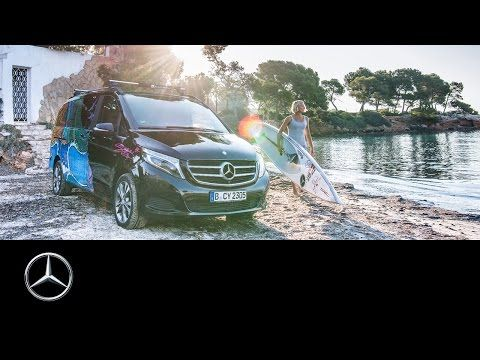 Mercedes-Benz: Painted Life: Sonni Hönscheid and the V-Class – Mercedes-Benz Original