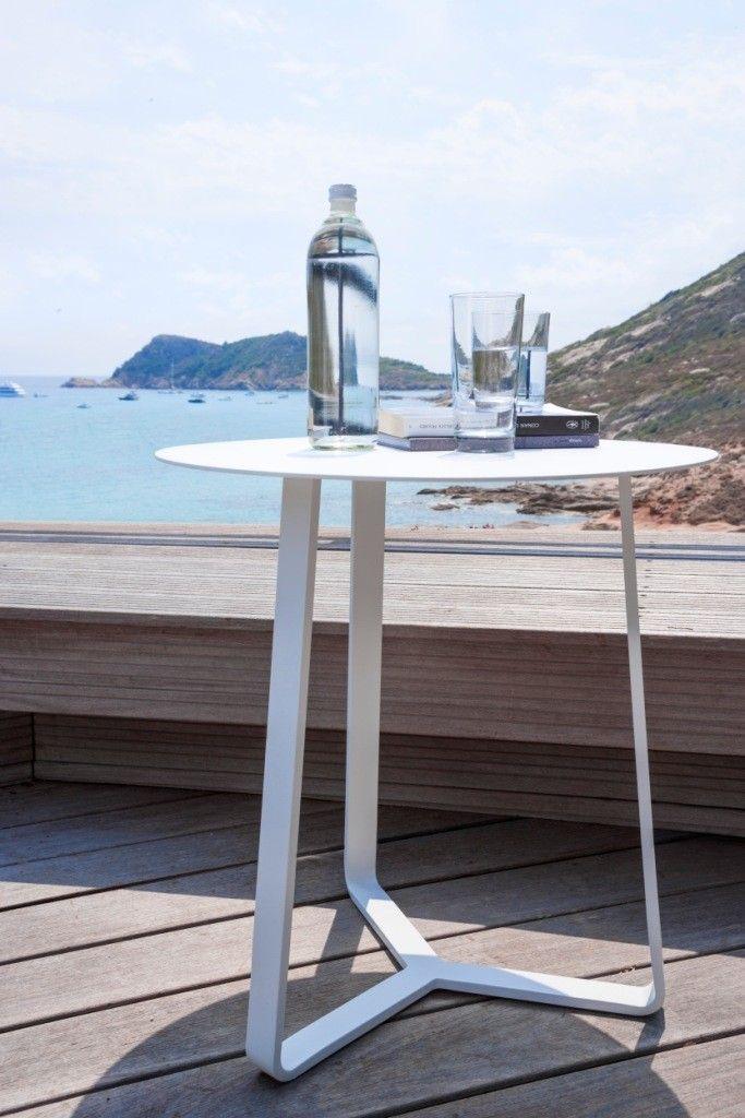 Coffe Table Touch Talenti 60 colore Bianco. Ambientazione.
