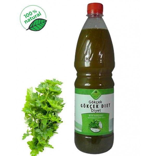 Gökçek Diyet (Bitki Karışımlı Maydanozlu Limon Suyu), 1 şişe 1 litre - Doğal Tedavi - İbrahim Gökçek - Alternatif Tıp - Bitkisel Ürünler - İksir - Alovera - Bitkisel Sağlık Ürünleri - Şifalı Bitkiler - Bitkisel Setler - Bitkisel İlaçlar - Herbalist İlaç Değil Bitkisel Gıda Takviyesidir. www.alternatiftip.com.tr