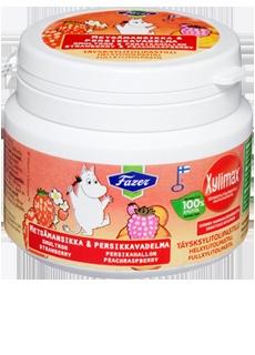 Xylimax Moomin purkki 90 g    lapset käyttää päivittäin. näitä kuluu.   näitä juuri saatu iso satsi joten toive hetken aikaa tauolla.