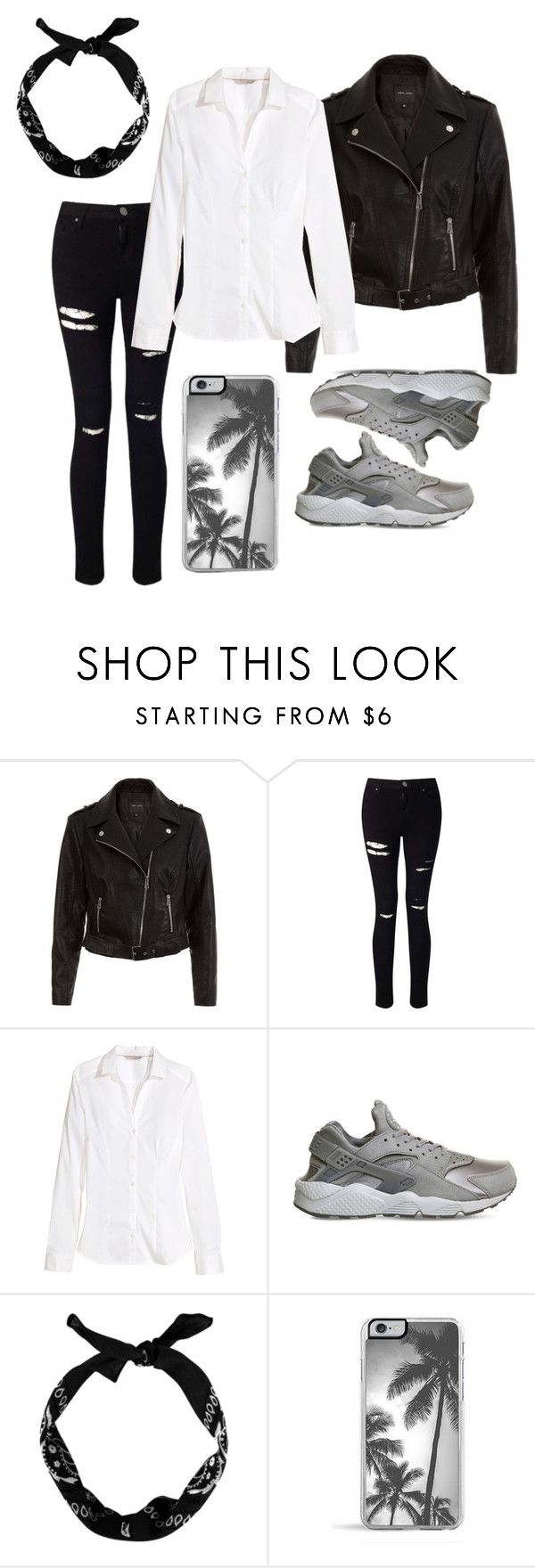 """Outfit for G-eazy concert"" by svdalen on Polyvore featuring mode, New Look, Miss Selfridge, H&M, NIKE en Zero Gravity"