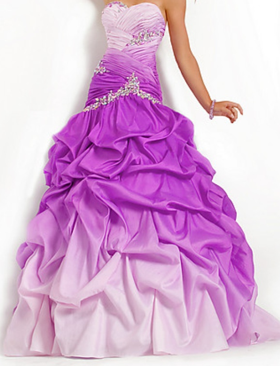 purple grad dress 1 I don't like purple grad dresses but this is lovely