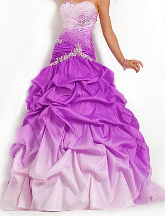 I love the ombré! It's gorgeous. Princess dress