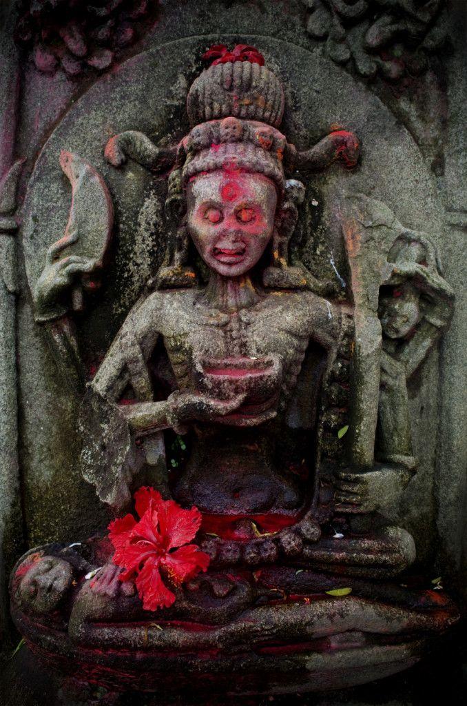 Kala Ksetram — november-d00m: Chamunda altar.